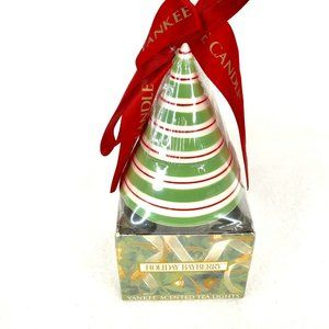 Yankee Candle Ceramic Christmas Tree Bayberry